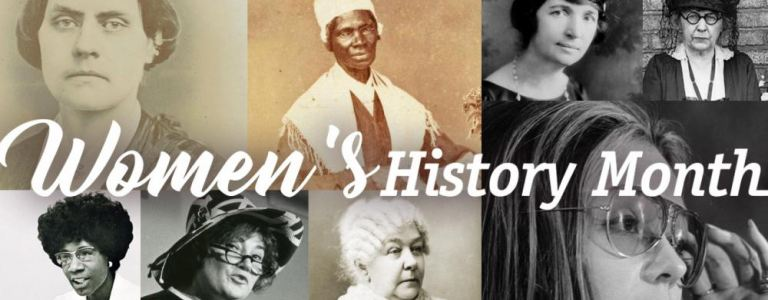 Women's History Month collage