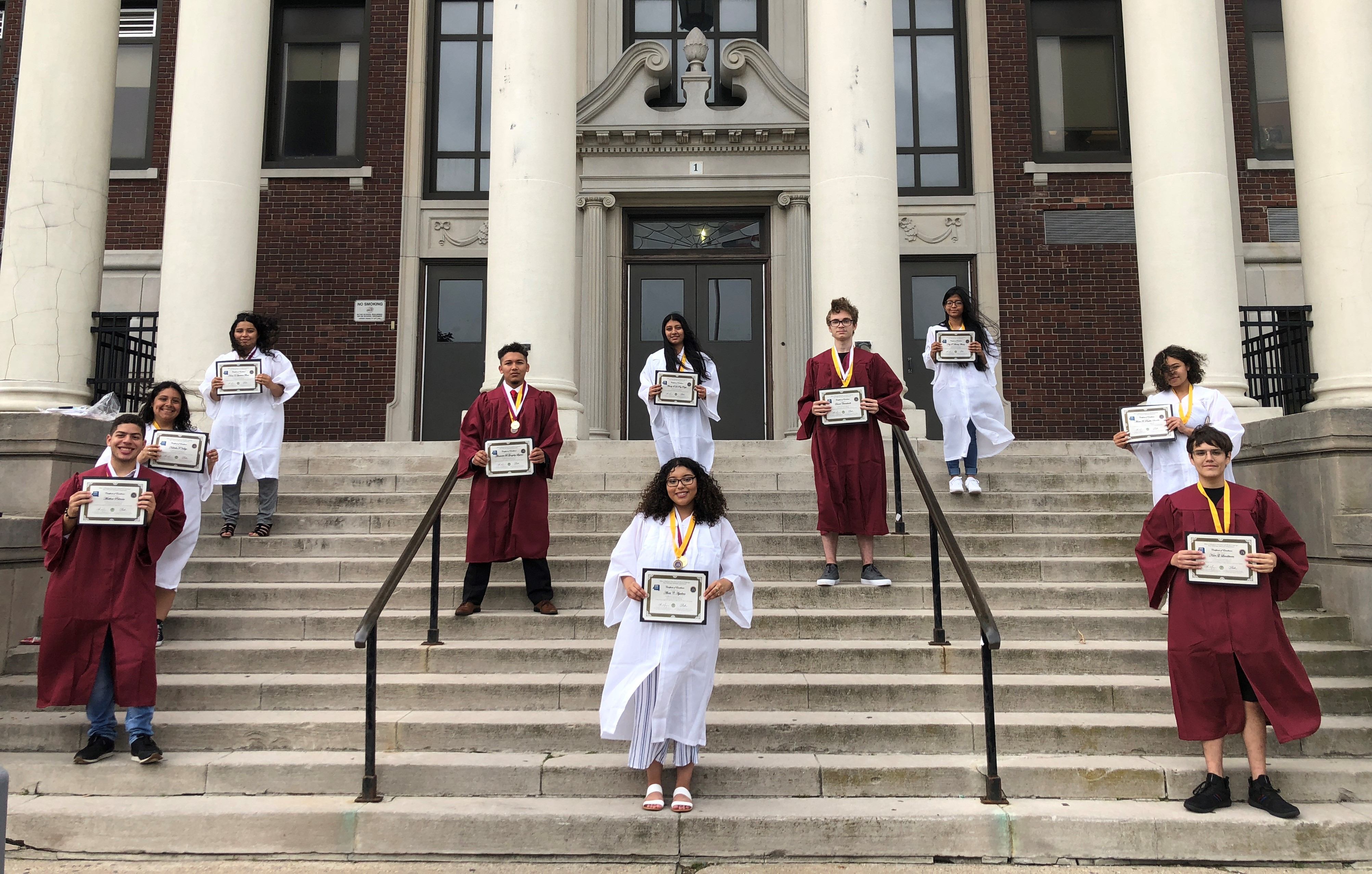2021 Seal of Biliteracy Graduates from Bayshore HS