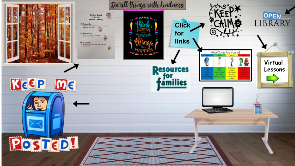 An image of a virtual classroom