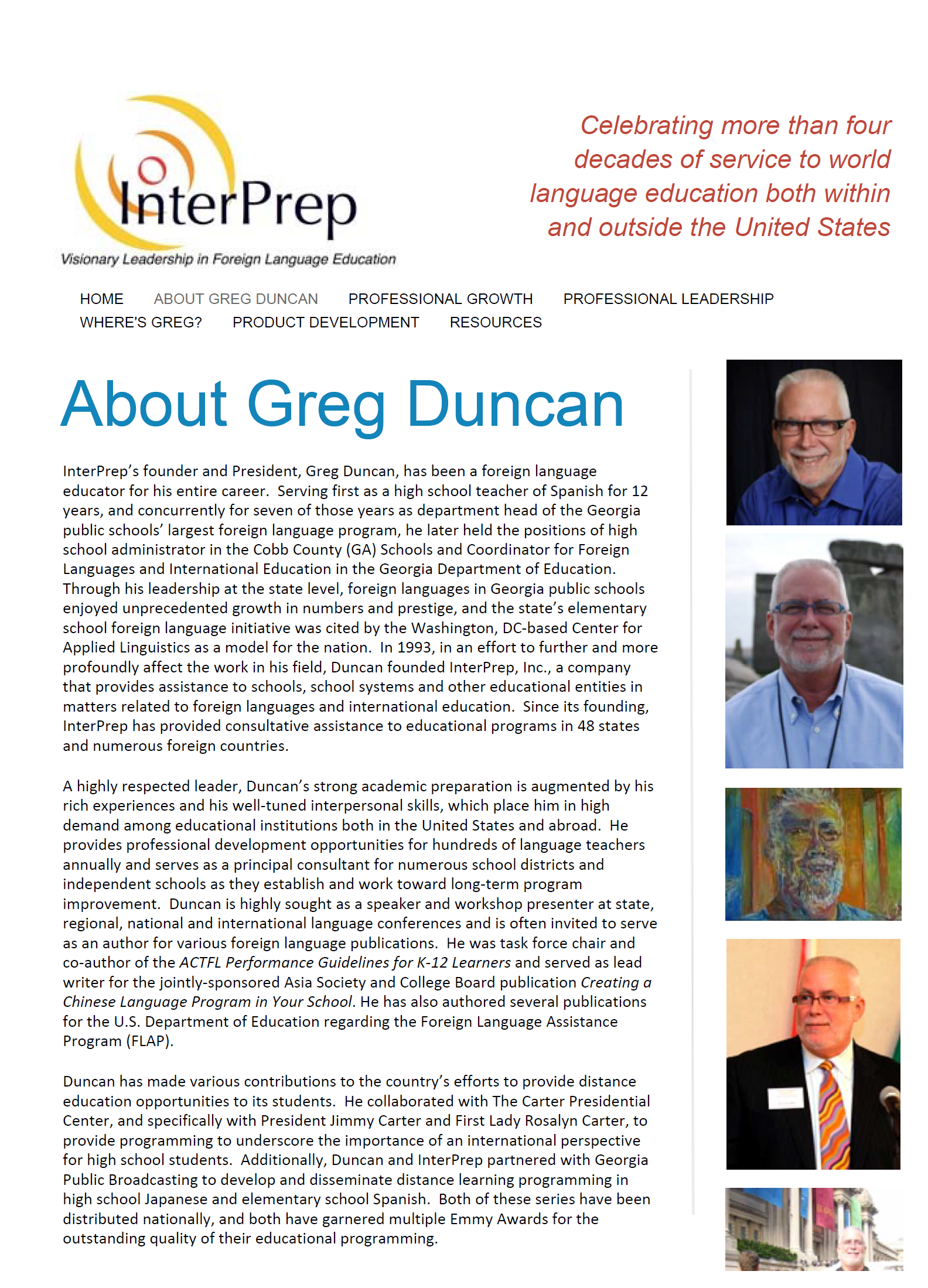 Biography of Greg Duncan