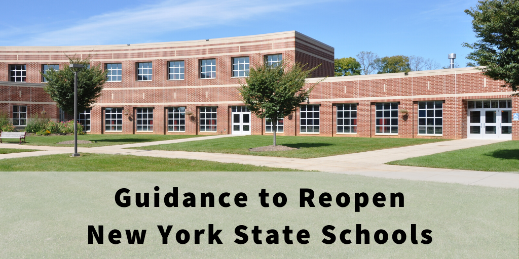 Guidance to Reopen New York State Schools
