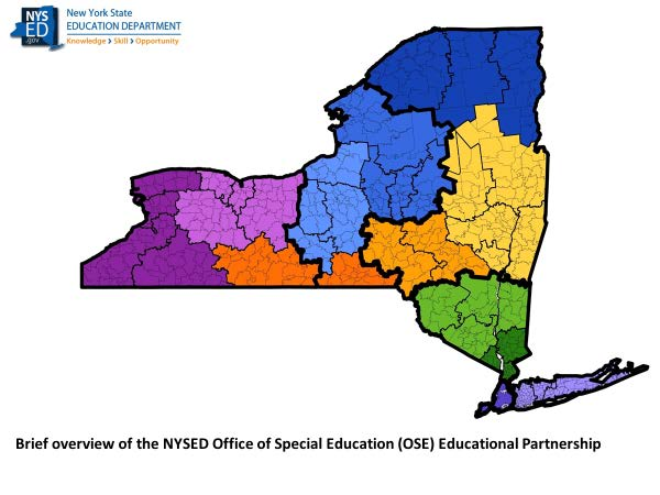 Brief overview of the NYSED Office of Special Education (OSE) Educational Partnership