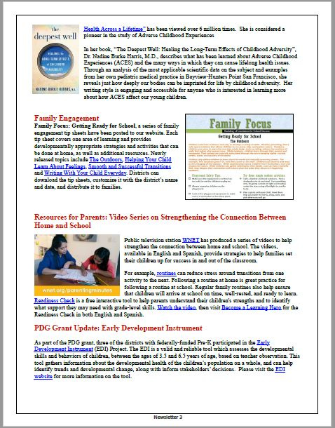 OEL October 2019 Newsletter Page Image