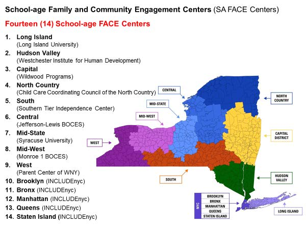 School-age Family and Community Engagement Centers (SA FACE Centers)