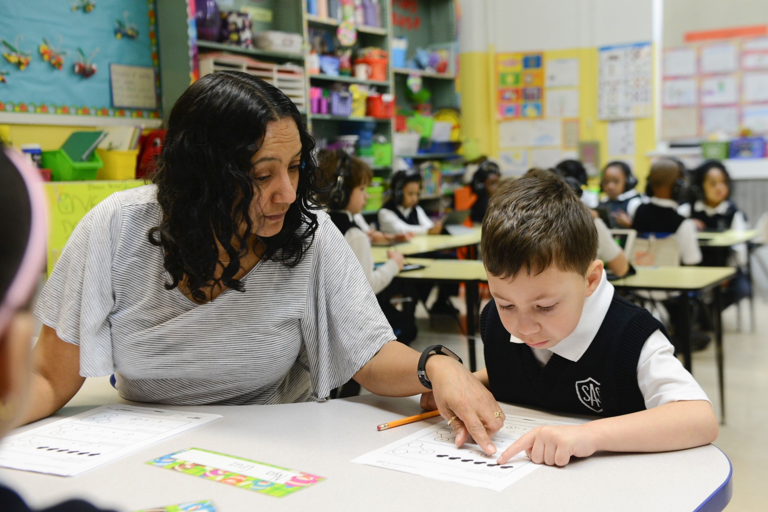 Direct instruction between student and teacher