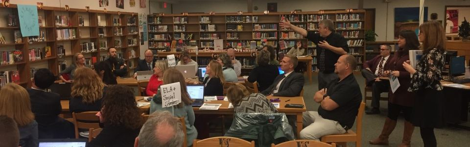 VVS Teacher Leader Meeting with a presentation from MOBOCES specialists: