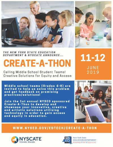 Create-A-Thon Flyer