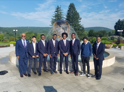 Regent Young with MBK Fellows