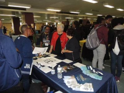Students and families participate in NAACP college fair
