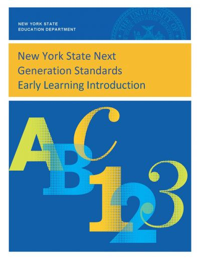 Cover image of the Introduction to the NYS Early Learning Standards