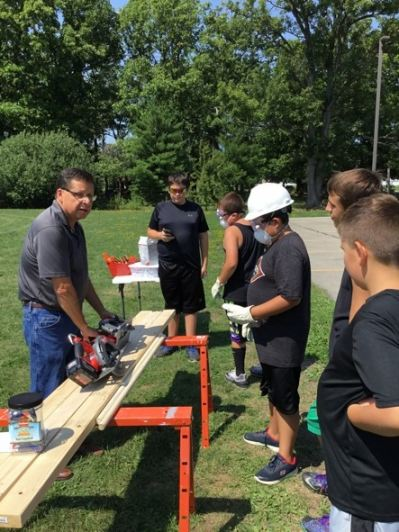 MBK students learn proper use of power tools at GMCH