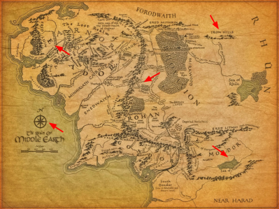 The Realm of Middle Earth