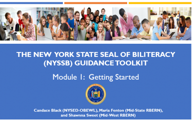 NYSSB Module 1 - Getting Started