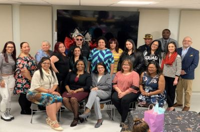 "Graduates of the ""Padres Comprometidos/Committed Parents"" leadership training"