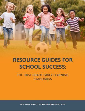 New York State First Grade Learning Standards Resource Cover Image