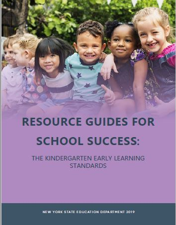 New York State Kindergarten Learning Standards Resource Cover Image
