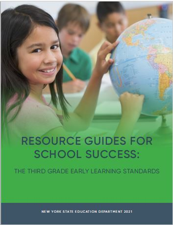 Resource Guides for School Success- Third Grade Early Learning Standards Cover Image