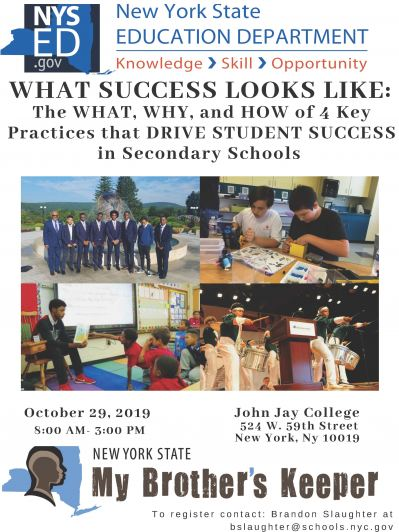 What Success Looks Like flyer