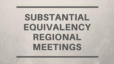 Substantial Equivalency Regional Meetings